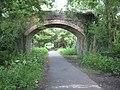 Bridge over the Tarka Trail - geograph.org.uk - 1360743.jpg