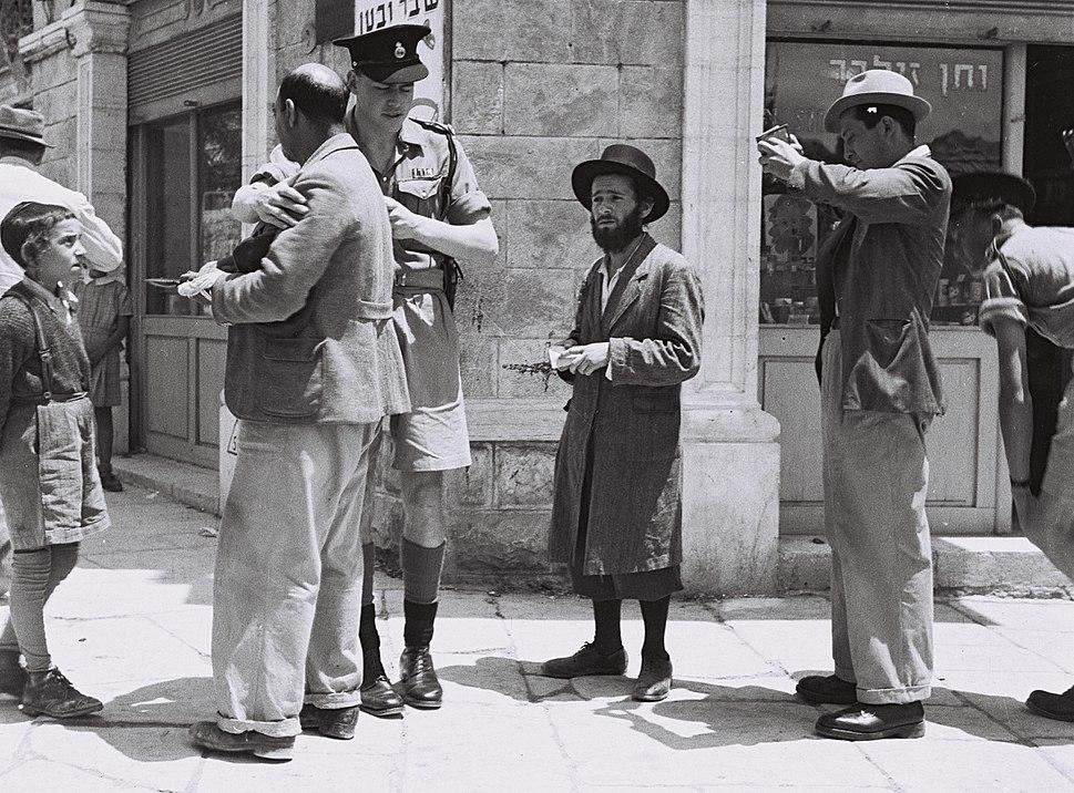 British Mandate of Palestine-1947