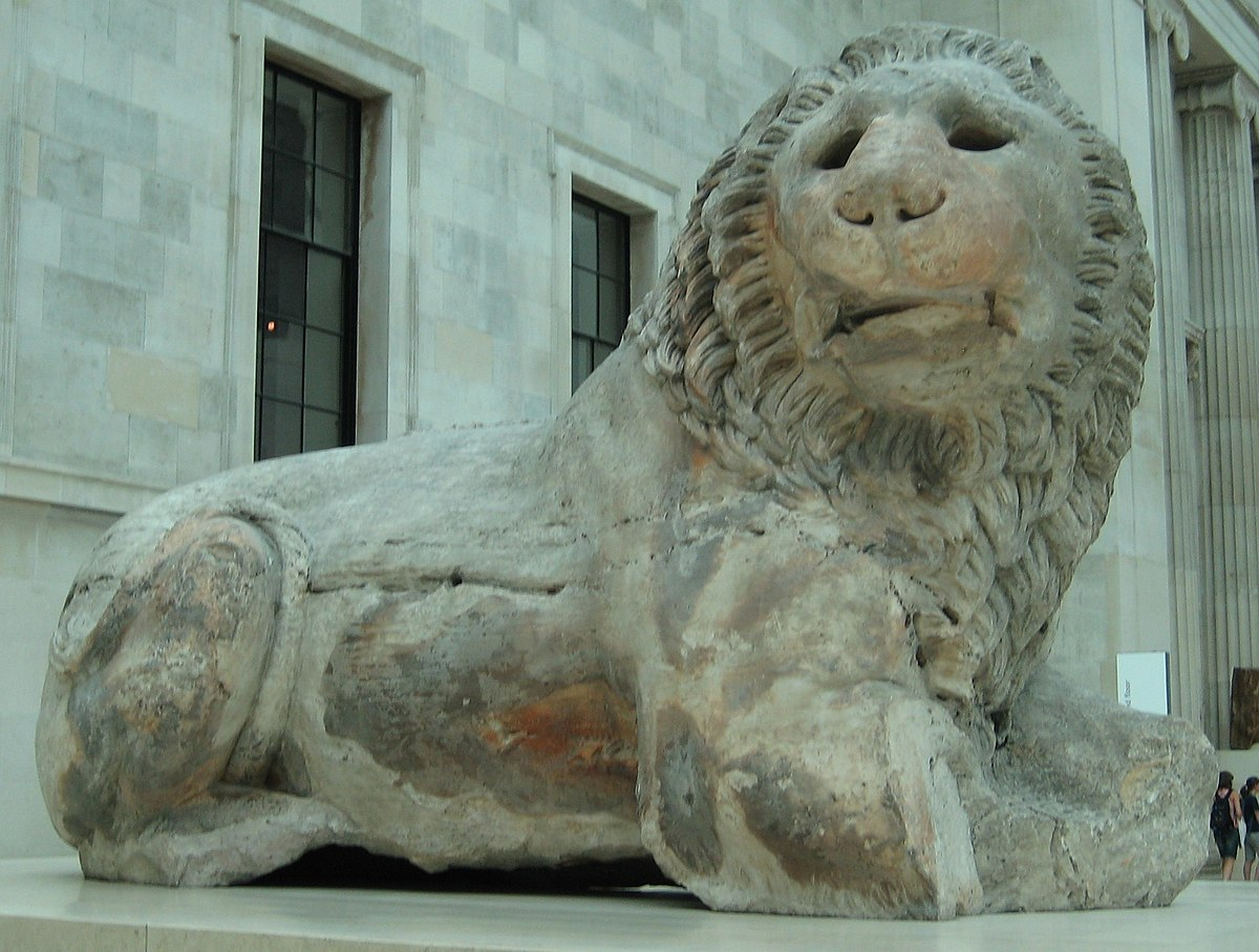 Lion Of Knidos Wikipedia