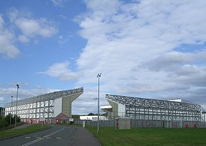 Scottish League Two - Image: Broadwood Stadium