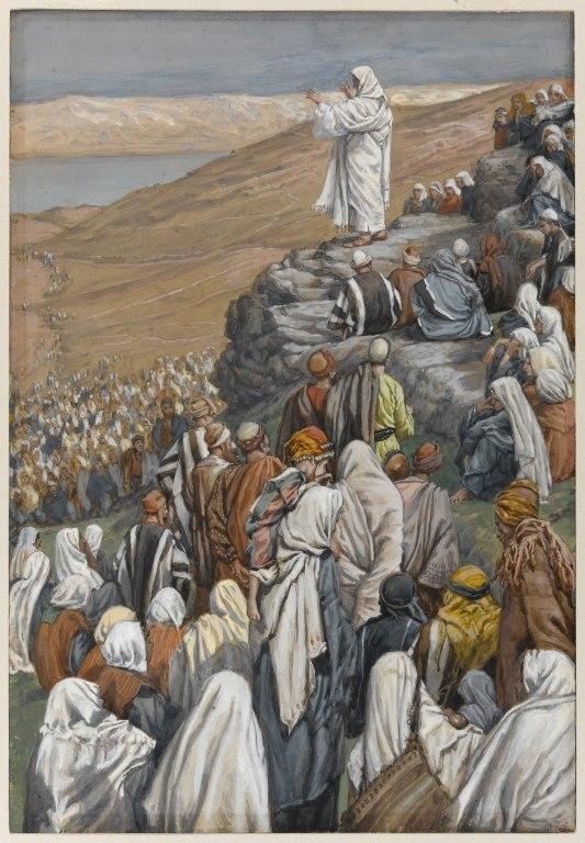 Brooklyn Museum - The Sermon of the Beatitudes (La sermon des béatitudes) - James Tissot