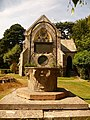 Brownsea Island, well cum gravestone - geograph.org.uk - 1445847.jpg