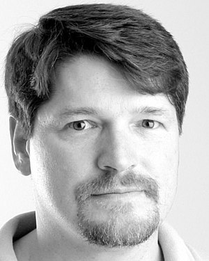 Bruce Bethke - Bruce Bethke, science fiction author, in 2001