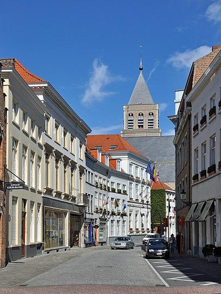 Bruges (Belgium): Sint-Jacobsstraat