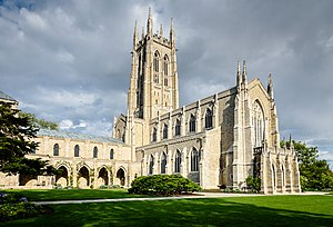 Bryn Athyn Cathedral - Image: Bryn Athyn Cathedral panoramio