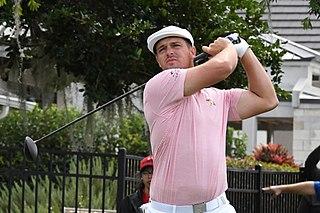 Bryson DeChambeau American professional golfer