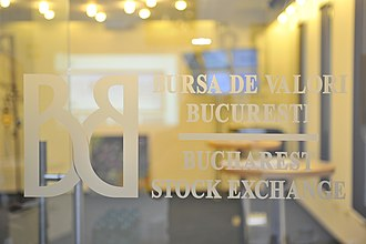 Bucharest Stock Exchange - BVB's offices are located on Carol I Boulevard in Bucharest, Romania