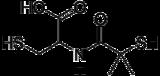 Skeletal formula of bucillamine