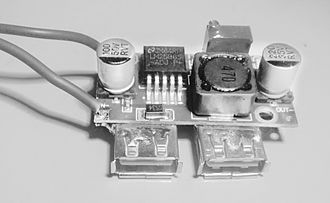 Buck converter - Image: Buck converter stepdown 3A USB Charger and Supply IMG 20170202 2107