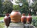 Bucuresti, Romania, Parcul Cismigiu, Ceas cu amfore; B-II-a-A-19655.JPG