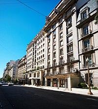 Avenida alvear wikipedia la enciclopedia libre for Hoteles en marcelo t de alvear buenos aires