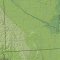 Buffalo Ridge shaded relief.png