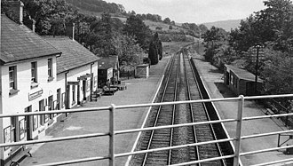 Mid-Wales Railway - Image: Builth Road (Low Level) Station 1935770 862b 242e