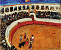 Bull fighting by Petr Konchalovsky (1910) 03.jpg