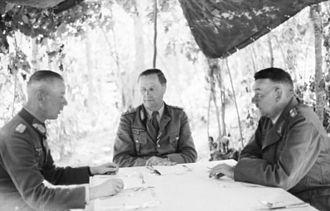 Werner Kempf - Werner Kempf (right), 21 June 1943