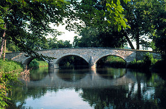 Burnside Bridge in der Nähe von Sharpsburg, Maryland