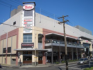 Westfield Burwood Shopping mall in New South Wales, Australia