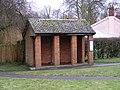 Bus Shelter, Grundisburgh - geograph.org.uk - 1127519.jpg