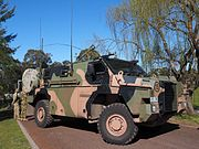 Bushmaster at the 2016 ADFA Open Day