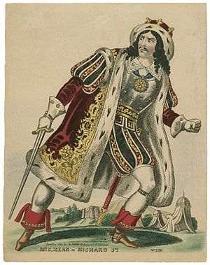 History (theatrical genre) - Charles Kean as Richard III