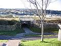C2C Cycleway under the railway at Corkickle - geograph.org.uk - 79404.jpg