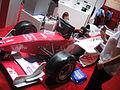 CES 2012 - Fujitsu Potenza Formula 1 race car (6791590588).jpg