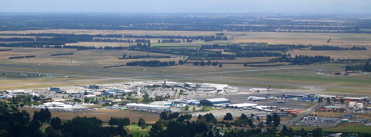 Christchurch Wikipedia: Aeroporto Internacional De Christchurch