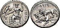 CILICIA, Tarsos. Mazaios. Satrap of Cilicia, 361-0-334 BC