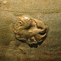 CMOC Treasures of Ancient China exhibit - celadon soul vase, detail 3.jpg