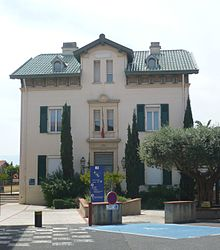 The town hall in Cabestany