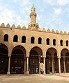 Cairo, cittadella, moschea di an-nasr mohammed, 1318-1335, cortile 05.JPG