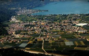 Caldonazzo - view of Caldonazzo