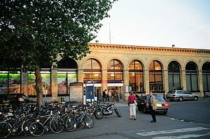 Cambridge railway station - Cambridge railway station, front entrance