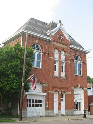National Register of Historic Places listings in Preble County, Ohio - Image: Camden City Hall and Opera House