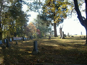Camp Beauregard Memorial - Image: Camp Beauregard Cemetery