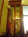 Campidoglio - pal senatorio sala delle bandiere - bandiera Olimpiadi 1960 PC080054.JPG
