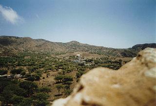 Campo Baixo Settlement in Brava, Cape Verde