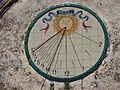 Can Pascual (els Hostalets de Pierola) - 007 rellotge de sol.JPG
