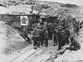 Canada YMCA hut at Coburg Subway - Canadian Official War Photographs (BL l.r.233.b.57.v3 f052r) (cropped).jpg