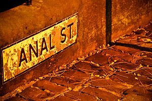 Canal Street (Manchester) - Image: Canal Street (Manchester) Sign Post