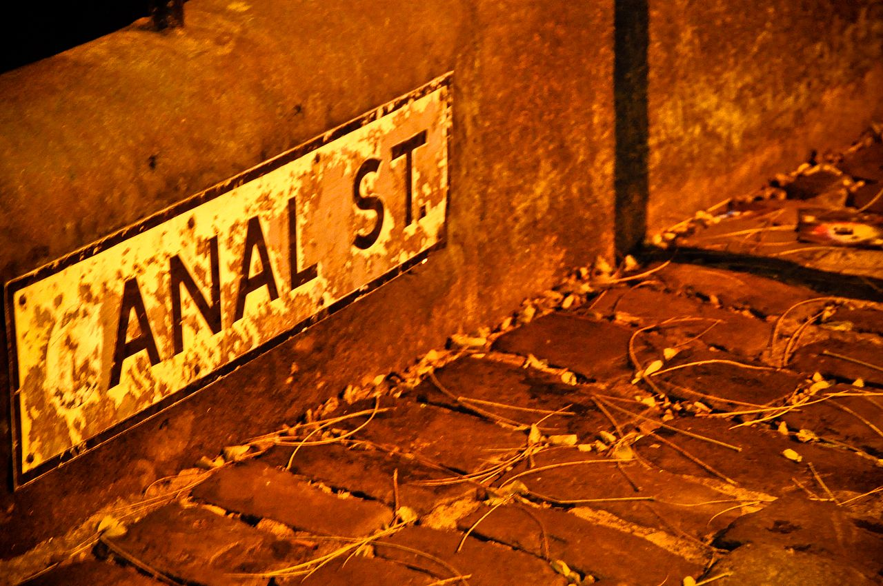canal village street street manchester Anal gay