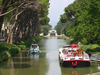 La Nouvelle branch - Canal de Jonction at Sallèles d'Aude