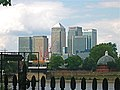 Canary Wharf from Old Naval Royal College, Greenwich, London. - panoramio.jpg