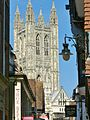 Canterbury Cathedral from Butchery lane.JPG