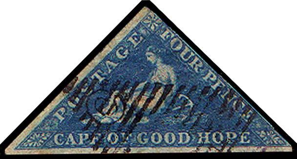 Cape Triangular Postage Stamp