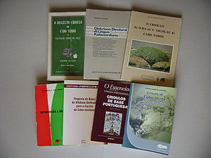 Cape Verdean Creole - Some linguistic books about the creole.