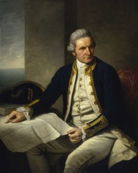Nathaniel Dance-Holland: Captain James Cook, 1728-79