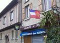 Carcassonne, maison à colombage rue Viollet le Duc.jpg