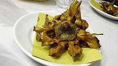 Cucina romana wikipedia for Fritti romani