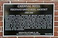 Cardinal Hotel sign.JPG